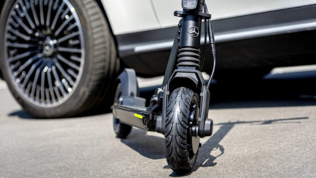 mercedes electric scooter