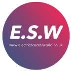 electric scooter world logo
